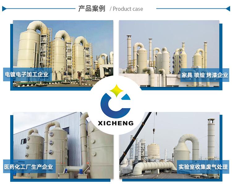 喷淋塔废气处理设备案例